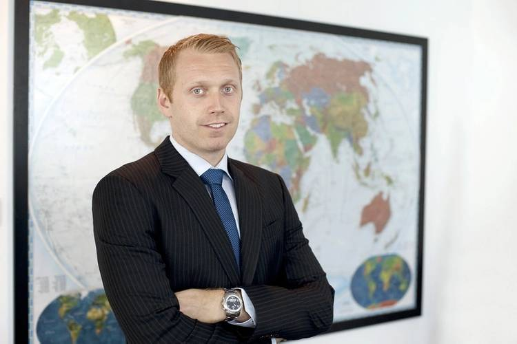 Christoffer Berg Lassen, Managing Director and CEO of Glander International Bunkering