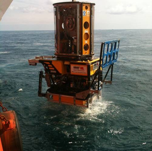 the Atom, the latest compact workclass ROV from SMD