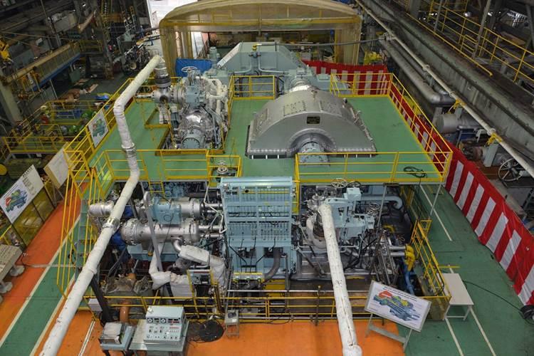 Marine turbine for main engine (UST)
