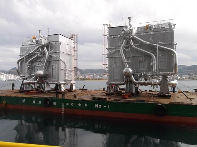 Marine boilers for main engine (UST)