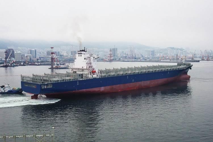 A typical NSB 6,500 TEU vessel of NSB.