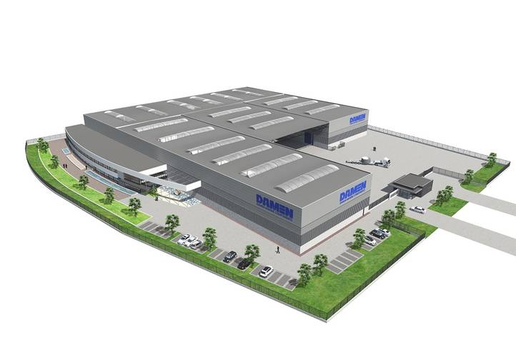 DMC China Factory. Photo: Damen