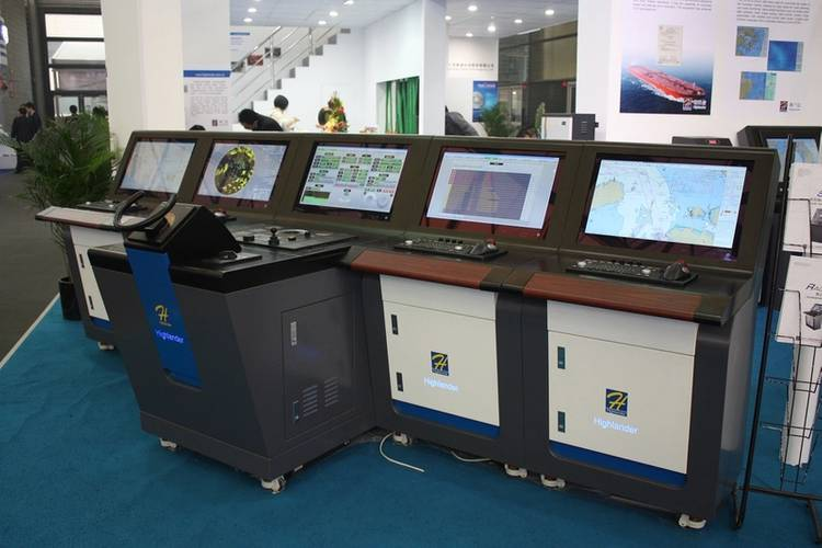 MARIS has been working in partnership with Beijing Highlander Digital Record Technology Co., Ltd. on the development of Integrated Navigation Systems (INS). (Photo: MARIS)