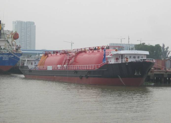 vessel ready for delivery on December 26, 2013