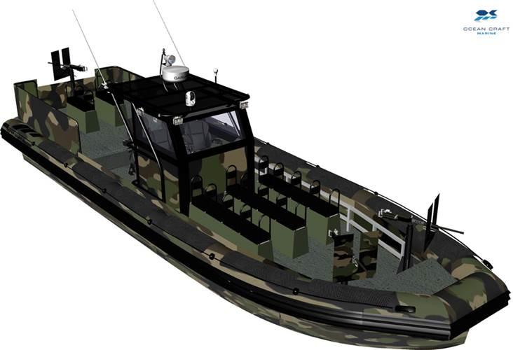 Ocean Marine's Riverine Assault Vessel.