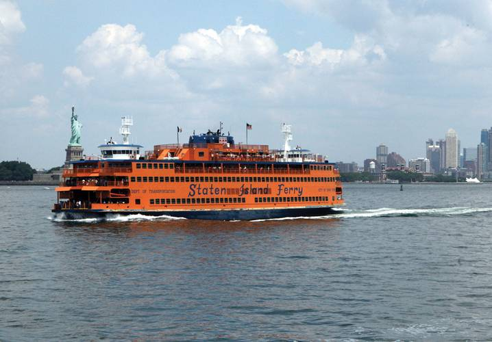 MARIN's Depressurized Wave Basin was the site for a test of the best propulsor configuration for the Staten Island ferries.