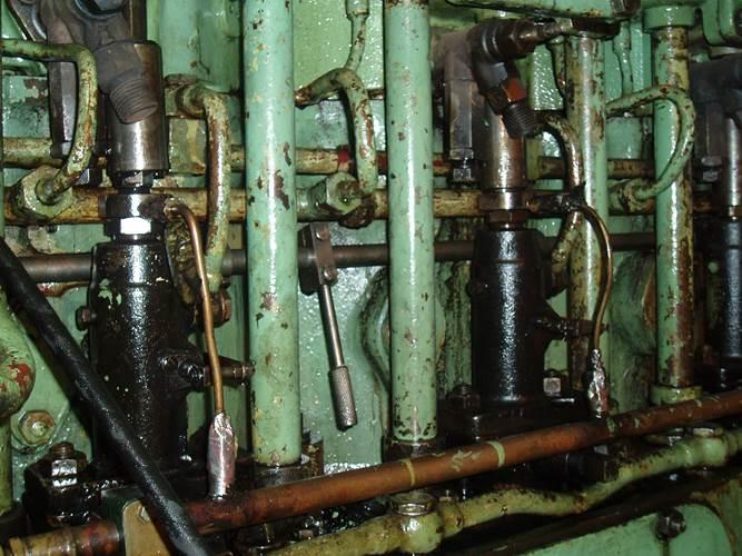 Machinery, bulk carrier, date keel laid 1980.