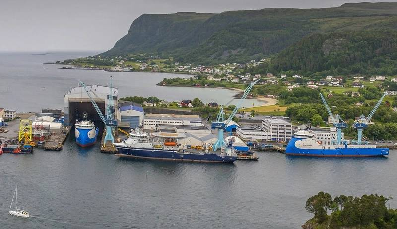 Ulstein Verft currently has seven vessels on order. (Photo: Karl Otto Kristiansen)