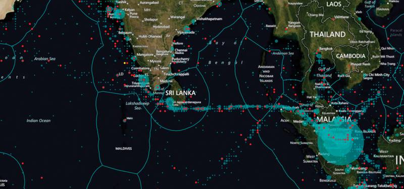 Windward provides full visibility on vessels globally, based on their historical, current and projected behaviors. This full visibility across the seas is unprecedented.