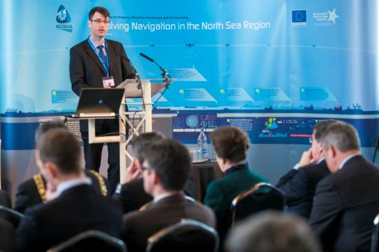 Dr. Alwyn Williams, ACCSEAS Project Manager, at the ACCSEAS Second Annual Conference
