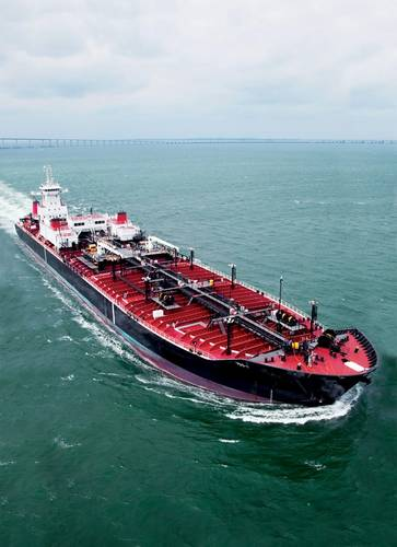 """In addition to its ATB fleet, Crowley has invested in tankers as a result of the shale oil and gas revolution. """"We never expected crude to be moving. We are moving crude from Corpus Christi to the Louisiana Offshore Oil Port (LOOP)."""""""