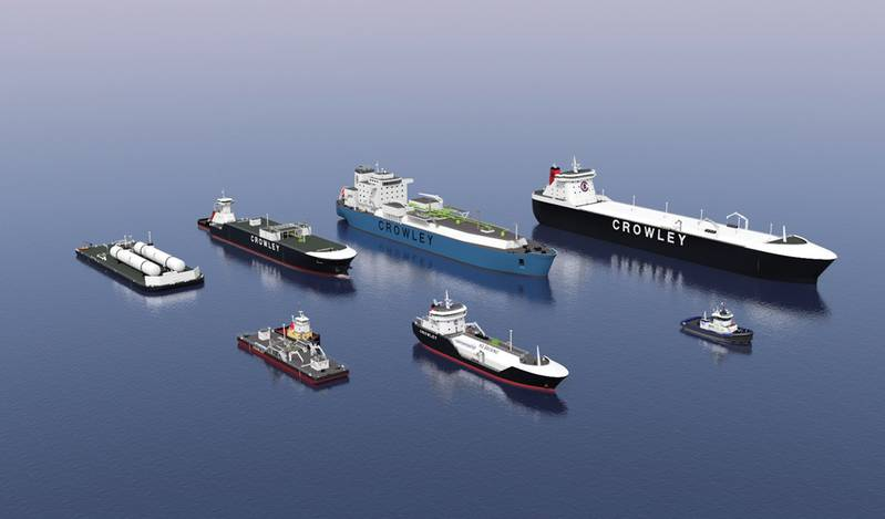 Although owned by Crowley, Jensen Maritime's client base is wide and includes all sizes and types of tonnage. That said; Jensen Maritime Vice President Johan Sperling said that his firm has a unique view on the industry that, perhaps, some competitors do not. That window potentially provides a sharper look at what could come next. Ongoing in-house projects include the LNG bunker barge, the LNG-powered tug, LNG powered ATB designs and of course, the design work with the larger, faster and environ