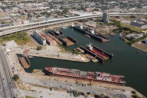 Photo courtesy International Ship Repair & Marine Services, Inc.