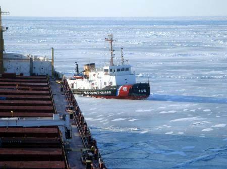 U.S. Coast Guard photo courtesy of CSL Laurentien