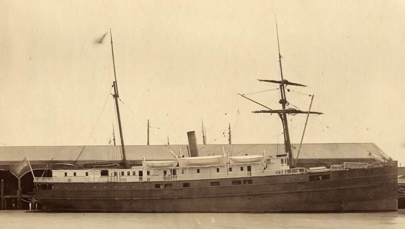 SS City of Chester (Credit: San Francisco Maritime National Historic Park K01.2.571PL)