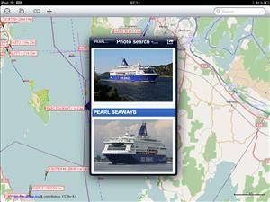 Users can quickly access vessel images.