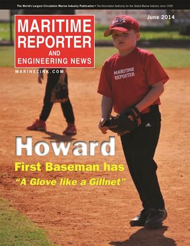 """First baseman Robert Howard has """"a glove like a gillnet."""