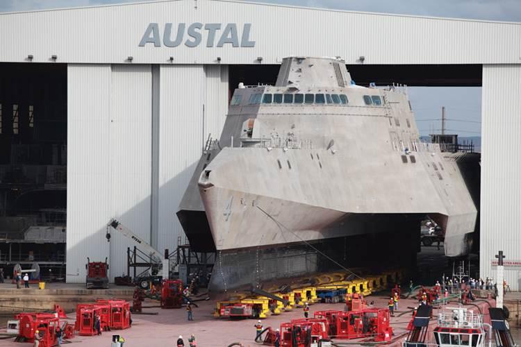 (U.S. Navy photo courtesy Austal USA/Released)
