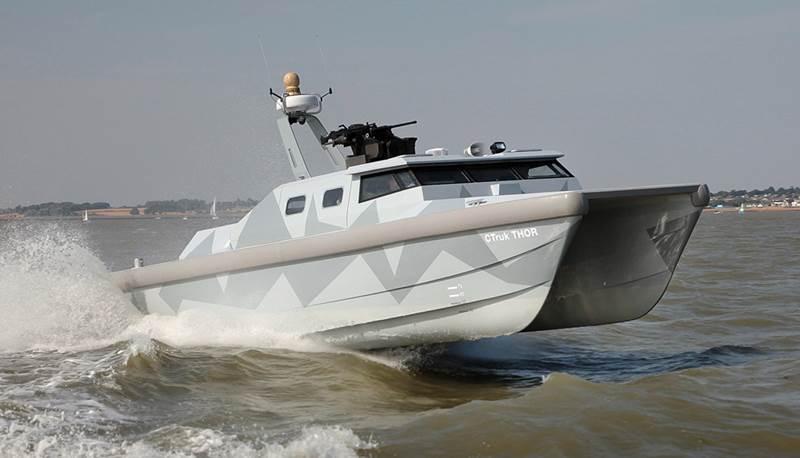 CTruk THOR Twin Hulled Offshore Raider