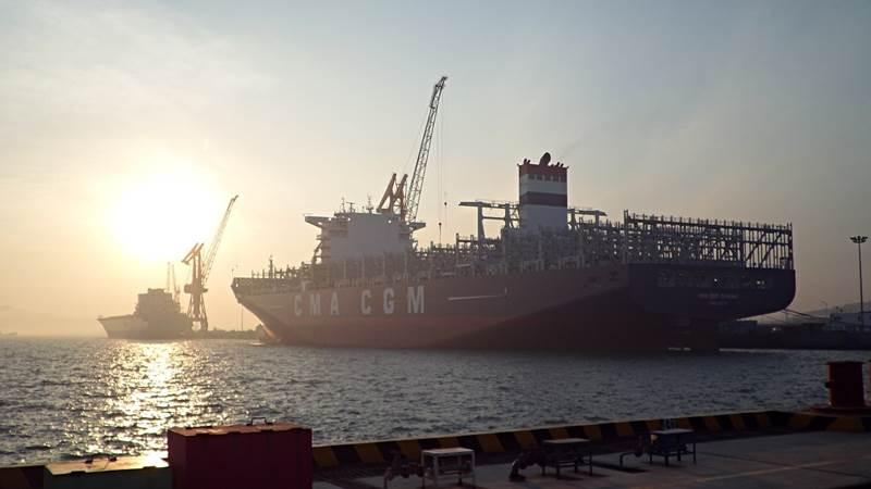 CMA CGM Danube (Photo courtesy of CMA CGM)