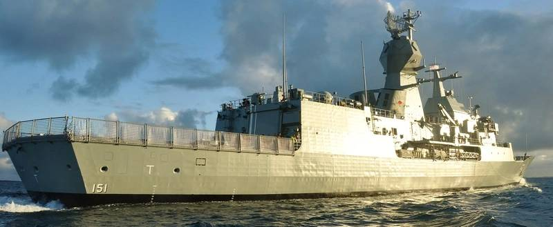 HMAS Arunta on her first day at sea (Australia Department of Defense photo)