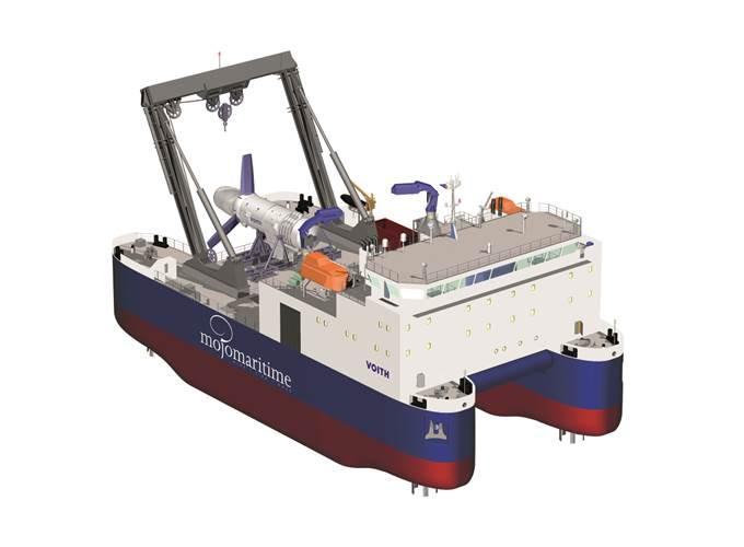 High Flow 4 construction vessel