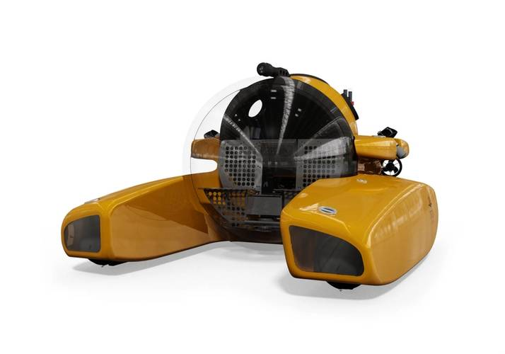 Triton will introduce Triton 1000/3 LP at the 2014 Monaco Yacht Show in September in hopes that the new submersible will transform the yacht based submersible industry. (Image: Triton Submarines)