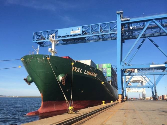 ItalLunare docked at the Port of Boston