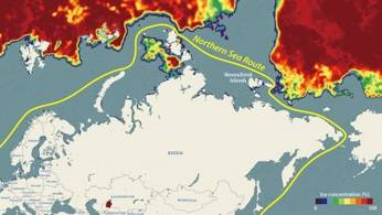 Analysis results as of August 21 confirming the Northeastern passage open to vessels