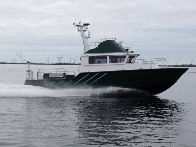 Photo courtesy of Volvo Penta IPS