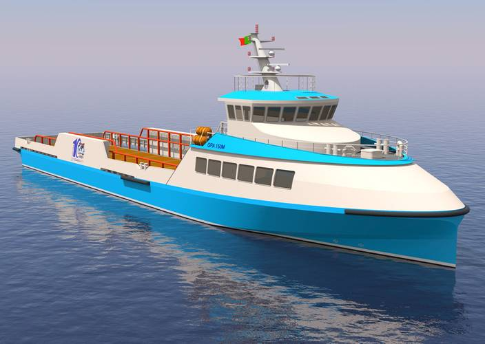 Guido Perla & Associates, Inc. (GPA) won a contract to deliver the Design Package and Class Approval Package for two GPA 150M FSVs.  The ships for Enterprise Shipping, will be built at Maritima de Ecologia S.A. de C.V., (Marecsa), in Mazatlán, Mexico.