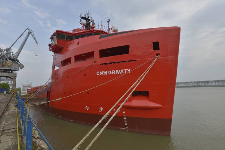 CMM took delivery of a Damen Platform Supply Vessel 3300, which is an 80-m, 3,300t dwt vessel CMM Gravity, to be deployed in the Brazilian waters from June 2014 on a 4+4 year contract with Petrobras.