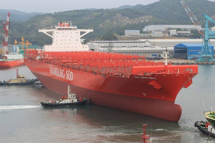 Hamburg Süd's San Christobal will operate between Asia and the east coast of South America from September 2014