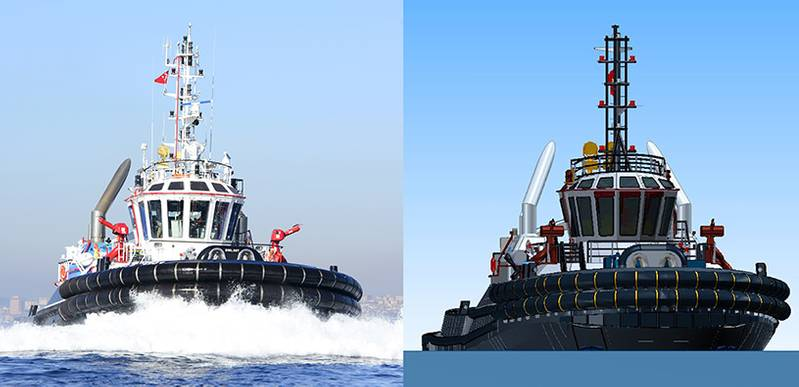 Sanmar's own experienced production design team has made 3D modeling of the vessel and the whole construction was carried out accordingly. (Image: Sanmar)