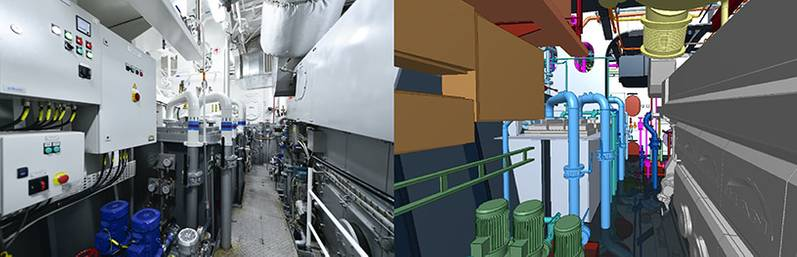 Side by side view of Sanmars design and realized production. (Image: Sanmar)