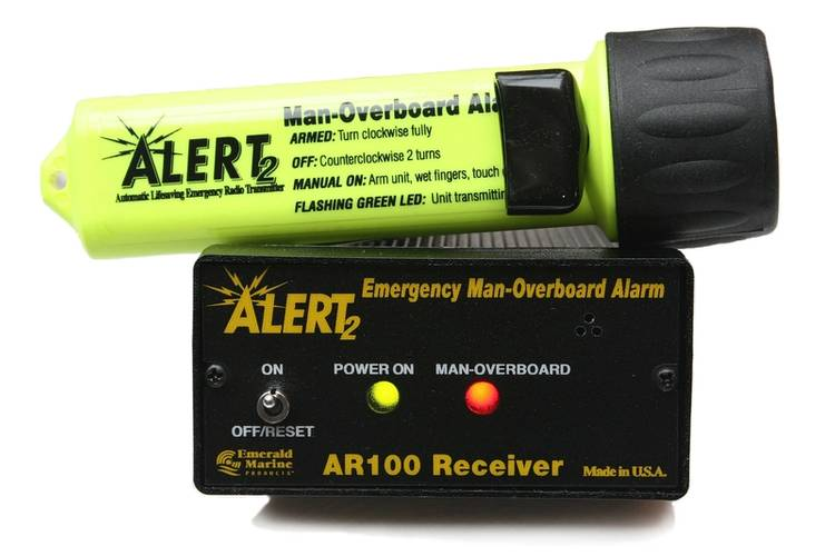 ALERT2 Man-Overboard Alarm System from Emerald Marine Products  Photo Emerald Marine