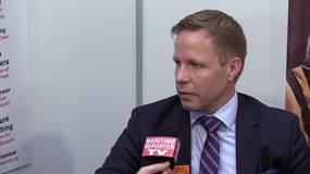 Maritime Reporter TV Interviews Timo Koponen, Wärtsilä