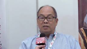 Maritime Reporter TV Interviews Dr. Jerry Ng, CEO, Blue Ocean Solutions